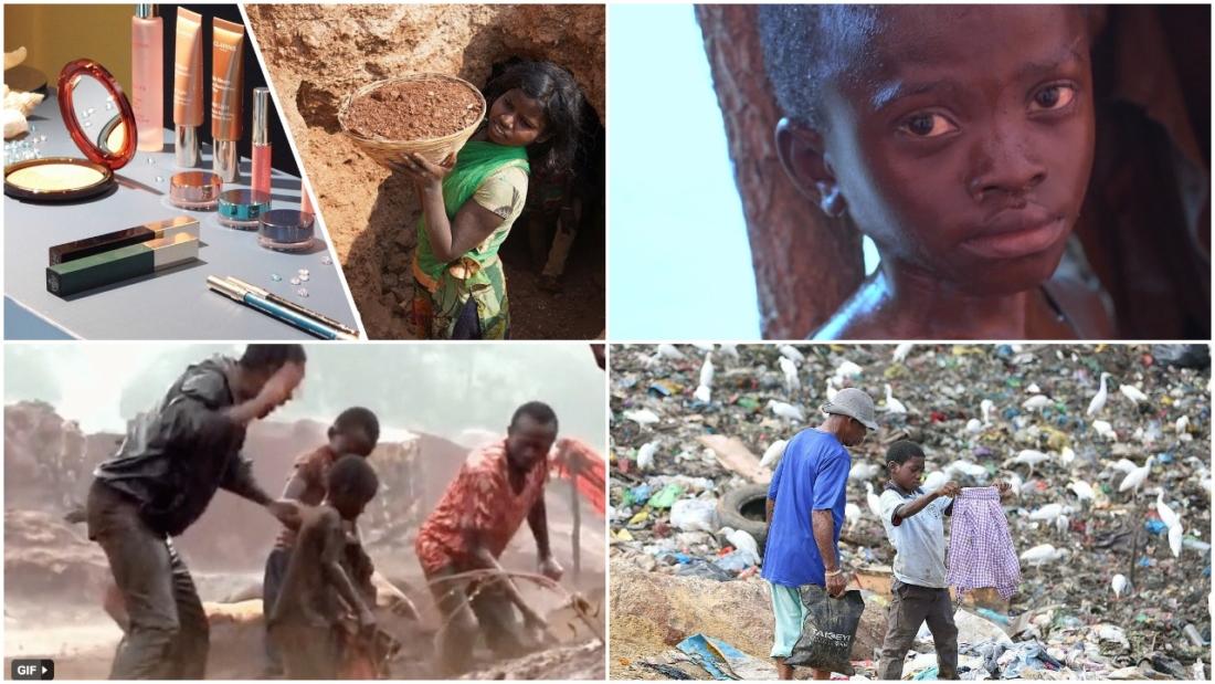 Từ những đứa trẻ 'bới' rác, đến mica, cobalt 'máu' khai thác bằng lao động trẻ em