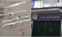 """TP. HCM: Bố là Giám đốc HTX ký """"giấy thông hành"""" để con gái qua chốt"""
