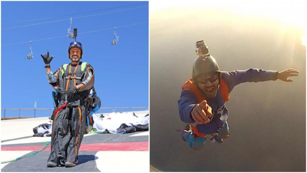 'Bay về nhà': Người đàn ông Thổ Nhĩ Kỳ 'bay' từ độ cao 2.000 mét tại nơi làm việc để 'về nhà cho nhanh'
