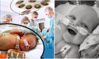 Sau hai lần mổ tim, em bé 6 tháng tuổi vẫn mỉm cười rạng rỡ