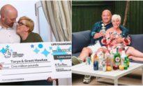 Cặp vợ chồng nghèo trúng số 32 tỷ đồng quyết định 'trả ơn cuộc đời'