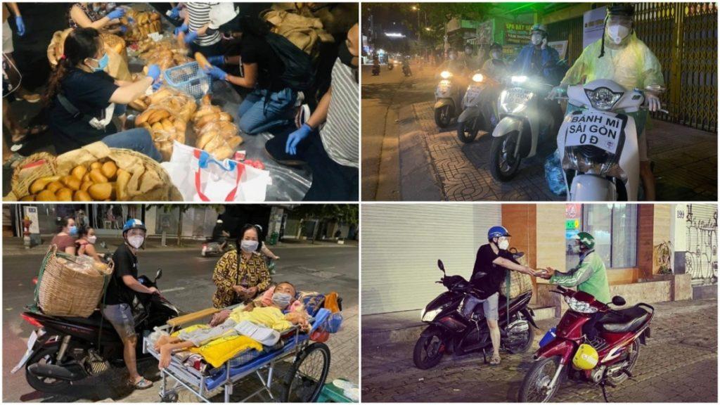 'Bánh mì Sài Gòn, 0 đồng một ổ': Tấm lòng 'đặc biệt thương nhau' trong đại dịch của người Sài Gòn