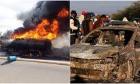 13 người tử vong trong khi 'hôi xăng' từ xe bồn gặp nạn