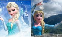 'Tiếng thở dài' của Sapa: Tượng Elsa phiên bản 'đột biến' made in Việt Nam