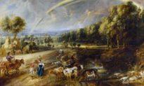 """""""Phong cảnh điền viên"""" của Họa sĩ Rubens vùng Flanders"""