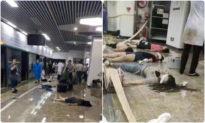 Người Trung Quốc truyền tay nhau video nghi mổ cướp giác mạc nạn nhân lũ lụt ngay ở ga tàu điện ngầm