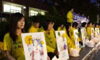 22 năm cuộc bức hại Pháp Luân Công của ĐCSTQ, buổi thắp nến cầu nguyện ở Toronto