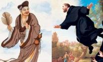 Văn hóa phương Đông và phương Tây tỏa sáng lẫn nhau: 'Vị Phật sống' Tế Công và Thánh Saint Joseph