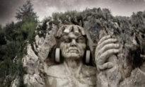 Peru: Điêu khắc các vị Thần Inca khổng lồ trên núi