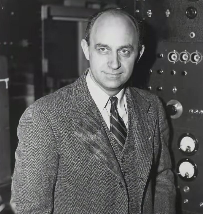 Enrico Fermi - nhà vật lý nổi tiếng người Mỹ gốc Ý (Ảnh chụp màn hình video)