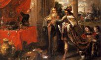 Vua Croesus trả giá mất nước mới lĩnh hội ra sự điểm hoá của Thần và hạnh phúc