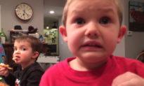 'Con sẽ không bao giờ kết hôn': Cậu bé 4 tuổi 'nghiêm túc' giải thích với bố 'chuyện hôn nhân'