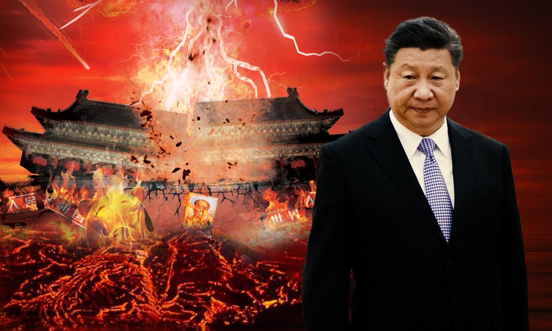 Trung Quốc tự sụp đổ bởi những quyết sách ngạo mạn của Tập Cận Bình