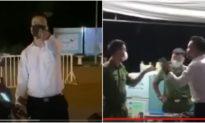 Hà Nội: Người đàn ông xưng 'tao là VTV, tao là tiến sĩ' chửi cán bộ chốt kiểm dịch