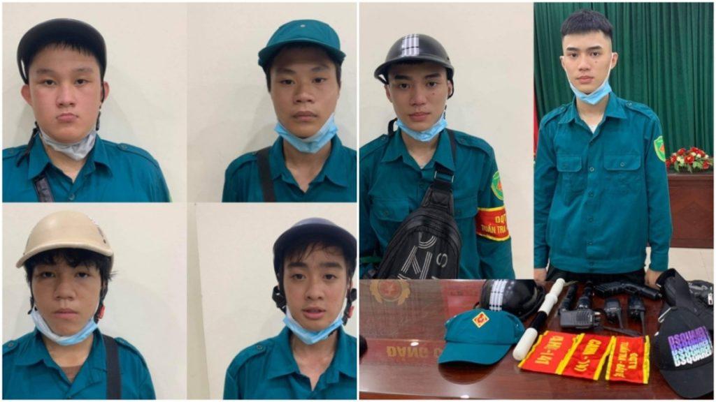Hà Nội: Bắt giữ 6 thanh niên giả lực lượng chống dịch, cưỡng đoạt tiền người đi đường