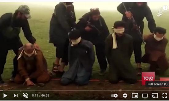 """Một tổ chức khủng bố man rợ như Taliban lại được một """"siêu cường"""" mới nổi như Trung Quốc thừa nhận. (Ảnh chụp qua màn hình)"""