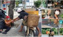 'Một ổ 5k, hai ổ cho luôn...': Cách làm từ thiện 'chẳng giống ai' của một người con đất Sài Thành