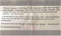 'Tôi đã quá thô lỗ': Người đàn ông gửi thư xin lỗi và $100 tiền tip cho nhân viên nhà hàng vì hành vi không đúng của mình