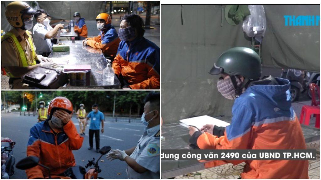 'Chạy nhanh lên, sắp 18h rồi': Lao đao 'phận shipper' với mức phạt 2 triệu khi ra ngoài sau 18h