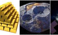 """Phát hiện tiểu hành tinh chứa đầy """"mỏ vàng"""" trị giá 10.000 tỷ USD"""