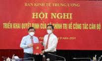 Ông Nguyễn Thành Phong ra Hà Nội nhận quyết định làm Phó ban Kinh tế Trung ương