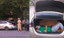Trốn trong cốp xe để qua chốt, Hà Nội yêu cầu giám sát chặt việc cấp giấy đi đường