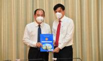 Ông Tăng Chí Thượng được bổ nhiệm làm giám đốc Sở Y tế TP.HCM