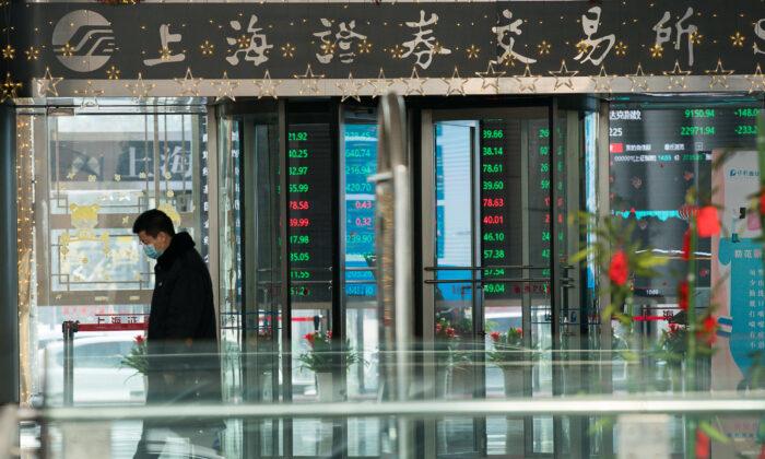 Thị trường chứng khoán Châu Á chao đảo vì lo ngại vỡ nợ bất động sản Trung Quốc và lạm phát
