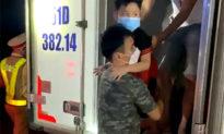 15 người trong thùng xe đông lạnh để 'thông chốt' kiểm dịch