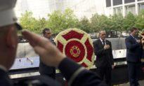 Ký ức về bi kịch 20 năm trước trong Lễ đặt vòng hoa kỷ niệm ngày 11/9