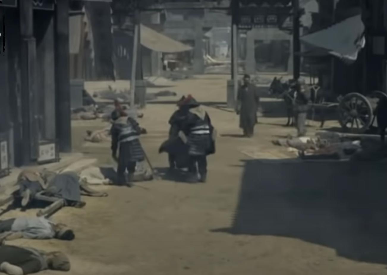 Lúc đó Tứ Xuyên đang bị bệnh dịch hoành hành, vì vậy ông quyết tâm đi về phía Nam để đến Ba Thục (Ảnh chụp màn hình video)