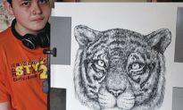 Bắt đầu vẽ từ năm 2 tuổi, 17 tuổi đã có kỹ năng hội họa bậc thầy đáng kinh ngạc