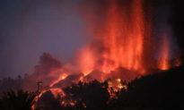 Núi lửa phun trào trên đảo La Palma của Tây Ban Nha, hàng ngàn người phải đi sơ tán