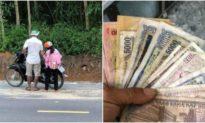 Người cha nghèo không đủ tiền mua điện thoại cho con học online và hành động ấm lòng của ông chủ tiệm