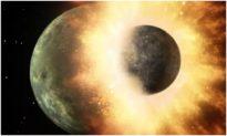 Phát hiện: Một Thiên thể đâm vào Trái đất tạo ra Mặt trăng hơn 4,4 tỷ năm về trước
