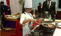 Cô bé 10 tuổi phá kỷ lục Unico Ấn Độ: Một tiếng nấu 46 món ăn khác nhau