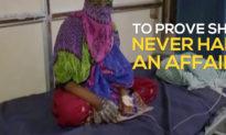 Người phụ nữ bị ép nhúng tay vào chảo dầu sôi để chứng minh mình không nói dối