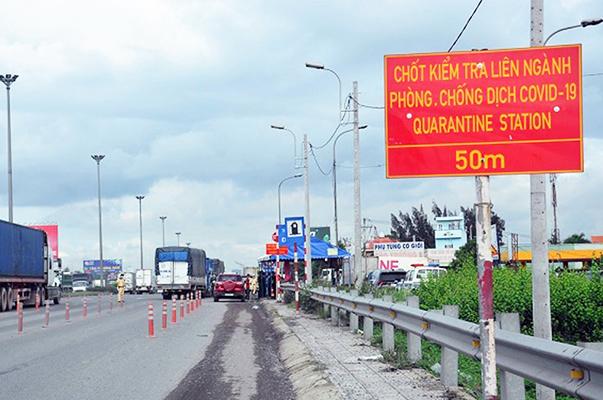 Hà Nội dừng kiểm tra người tại 22 chốt kiểm soát ra vào thành phố