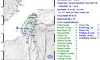 Động đất mạnh làm rung chuyển Đài Loan, không có báo cáo thiệt hại