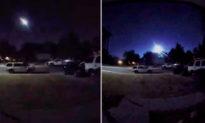 Video: Camera an ninh ghi lại cảnh sao băng nổ tung và thắp sáng bầu trời ở Colorado, Mỹ