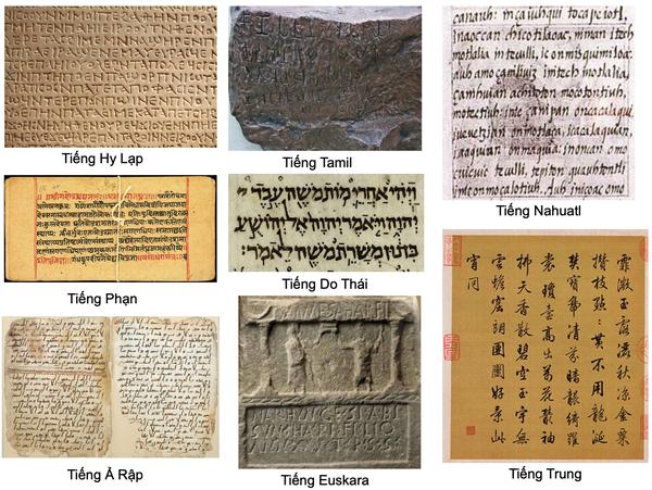 8 ngôn ngữ cổ đại vẫn được sử dụng cho đến ngày nay