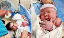 Sau 19 lần sảy thai, cuối cùng cô ấy đã hạ sinh một em bé 6,4kg
