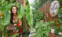 Người phụ nữ dành 3 năm để biến ngôi nhà thành Thiên đường Nhiệt đới