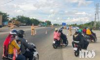 Ninh Thuận lập biên bản 1.362 người dân về quê, tạm giữ 679 xe máy