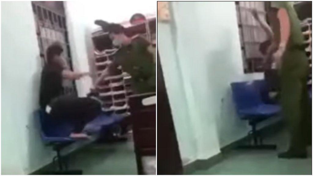 Quảng Nam: Tạm đình chỉ công tác cán bộ công an dùng dùi cui điện dí vào nam thanh niên