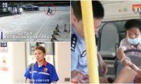 Nữ nhân viên trạm xăng bám theo người đàn ông, giải cứu bé gái 3 tuổi bị bắt cóc
