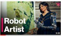 Nữ Hoạ sĩ Robot người Anh bị bắt vì nghi ngờ là gián điệp