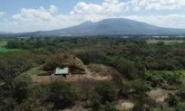 Kim tự tháp khổng lồ của người Maya được xây dựng từ tro bụi núi lửa