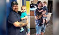 Ông bố béo phì giảm 72kg vì con trai mới sinh: 'Nếu bạn 184kg, bạn cần thay đổi cuộc sống'