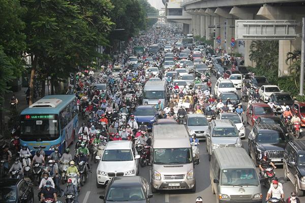 Hà Nội dự kiến đặt 87 trạm thu phí phương tiện vào nội đô